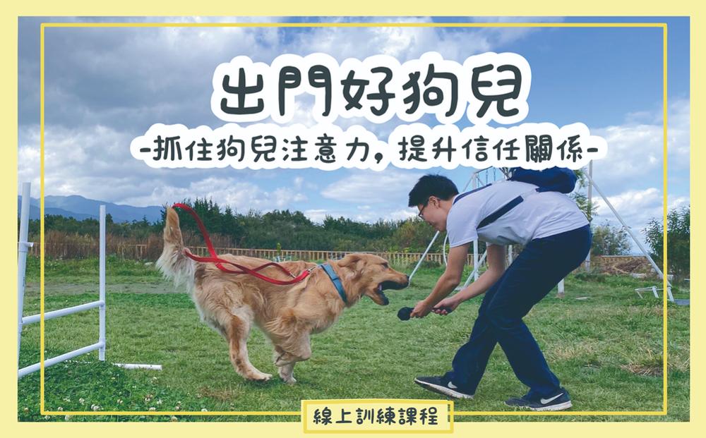 出門好狗兒:抓住狗狗注意力,提升信任關係