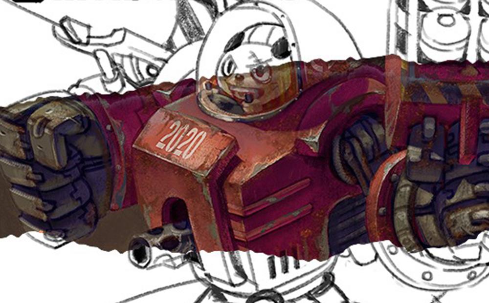 怪獸工場 - 色彩光學篇